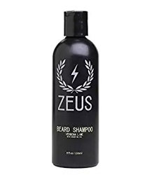 Zeus Beard Shampoo and Wash for Men