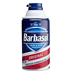 Barbasol Original Thick and Rich Cream Men Shaving Cream