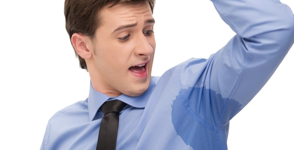 how to stop armpit sweat smell